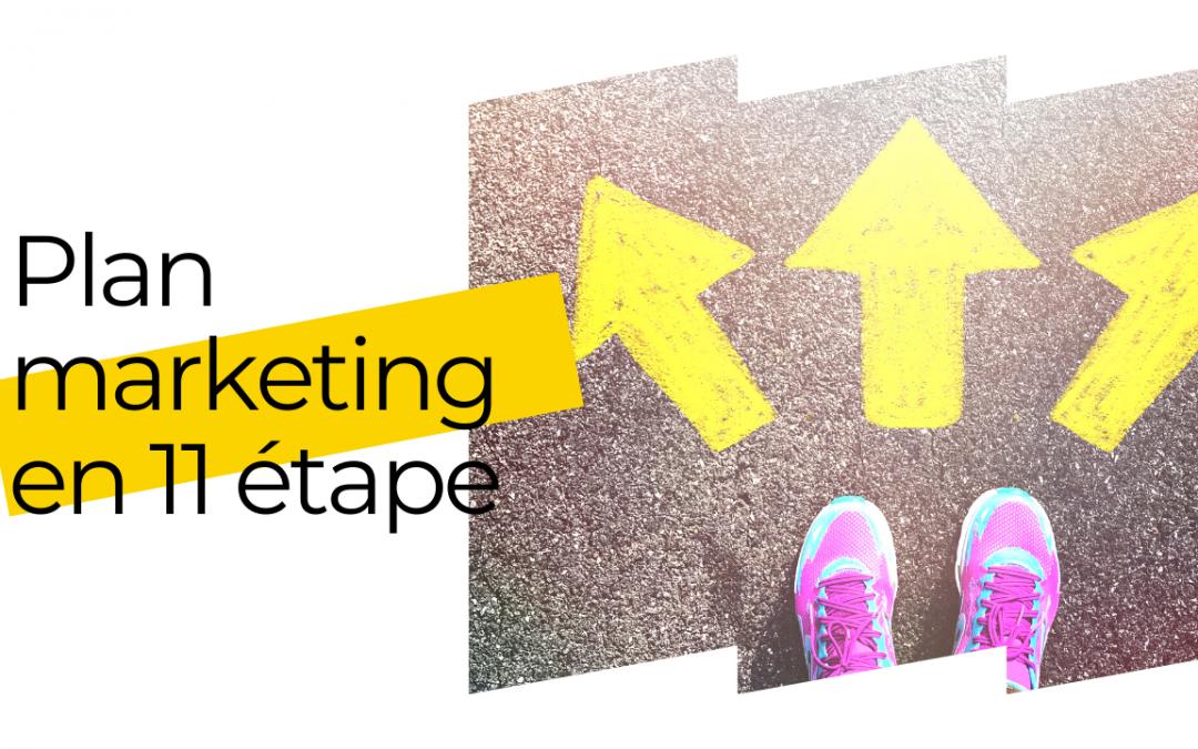 Plan marketing en 11 étapes!